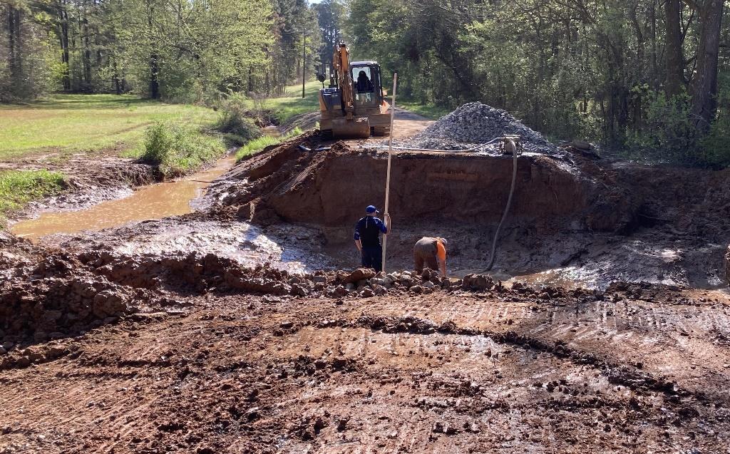 Goodman Springs Road Work